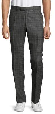 Strellson Checkered Wool Pants