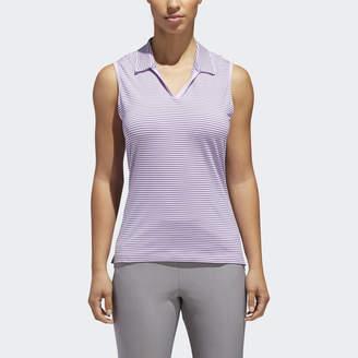 5fe4b9a031276 adidas Ultimate365 Stripe Sleeveless Polo Shirt