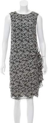 Jenni Kayne Silk Knee-Length Dress