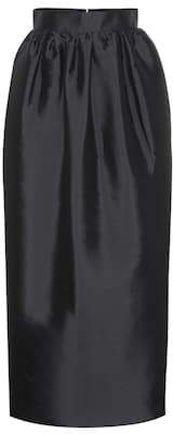 The Row Ranel duchess silk maxi skirt