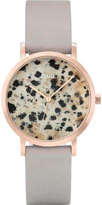 Cluse CL40106 La Roche Petite rose-gold and dalmatian stone watch