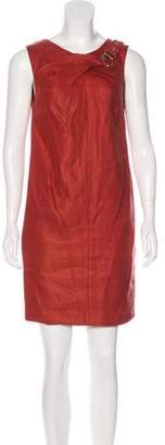 Gucci Sleeveless Silk-Blend Dress