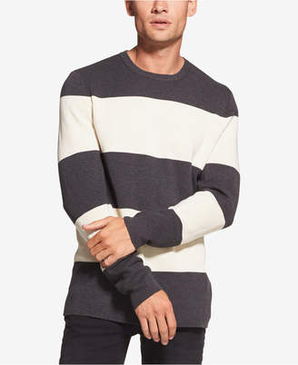 DKNY Men Large Striped Milano Sweater