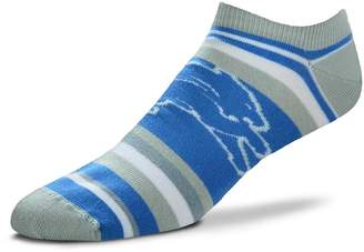 For Bare Feet Women's Detroit Lions No-Show Socks