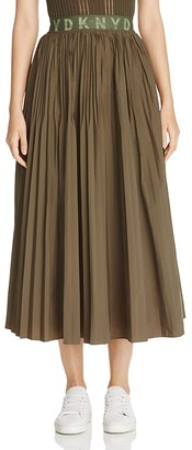 DKNY Pure Pleated Skirt $398 thestylecure.com