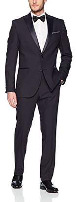 "Kenneth Cole Reaction Men's 32"" Finished Bottom Tuxedo"