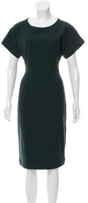 Lanvin Wool-Blend Sheath Dress