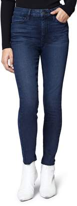 Sanctuary Social High Rise Raw Hem Skinny Ankle Jeans