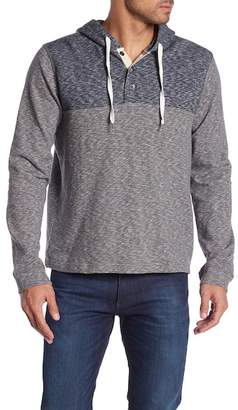 Lucky Brand Huntington Colorblock Henley Hoodie