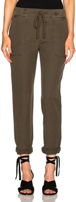 James Perse Slip Linen Trouser Pants $225 thestylecure.com