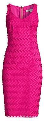 Trina Turk Women's Peak Textured Sheath Dress