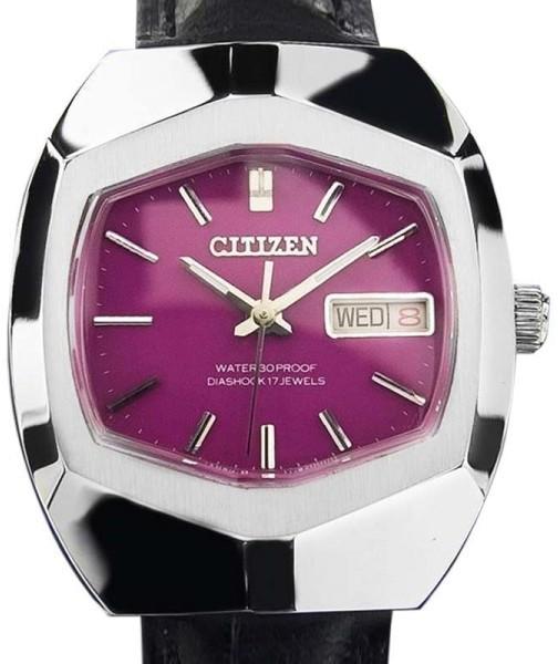 CitizenCitizen Diashock 17 Jewels Stainless Steel Manual Vintage Mens Watch 1970