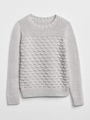 Gap Mix-Texture Sweater