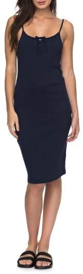 Roxy Happy New Way Body-Con Midi Dress