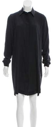 Givenchy Silk Knee-Length Shirtdress