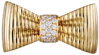 Van Cleef & Arpels Heritage  18K Yellow Gold 0.49 Ct. Tw. Diamond Brooch