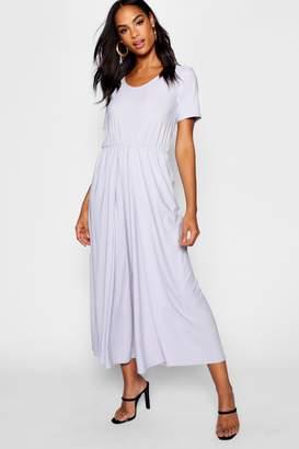 boohoo Tall 3⁄4 Sleeve Split Leg Culotte Jumpsuit