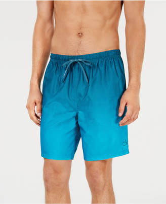 "Calvin Klein Men Gradient 7"" Swim Trunks"