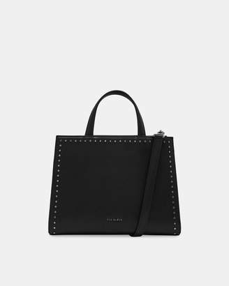 Ted Baker STEPHH Micro studded leather tote bag