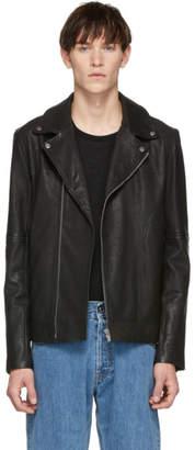 HUGO Black Lovell Biker Jacket