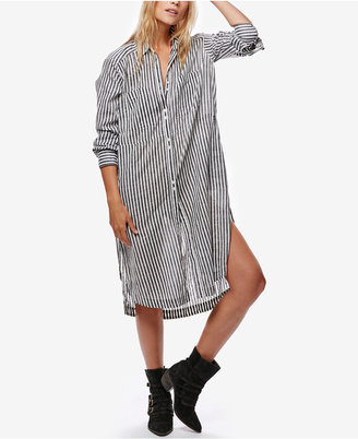 Free People Faded In The Morning Shirtdress $128 thestylecure.com