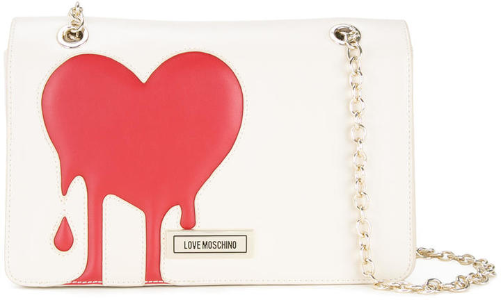 Love MoschinoLove Moschino melted heart shoulder bag
