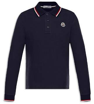 Moncler Boys' Long-Sleeve Polo Shirt - Big Kid