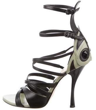 Bottega Veneta Embellished Leather Sandals