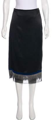 Elizabeth and James Embellished Midi Skirt