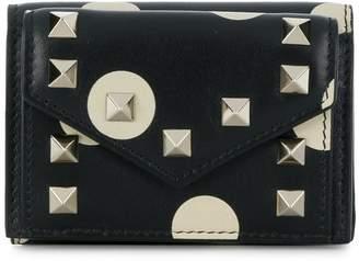 Valentino mini tri-fold wallet