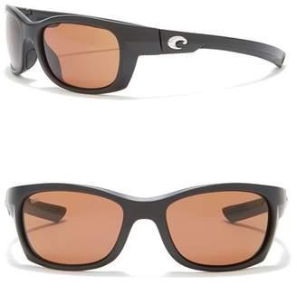 e876bc3f39 Costa del Mar Rafael Polarized 55mm Wrap Sunglasses