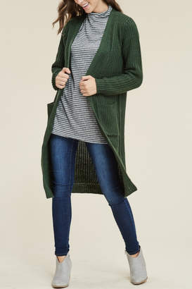 Reborn J Knee Length Ultra Soft & Warm Cardi