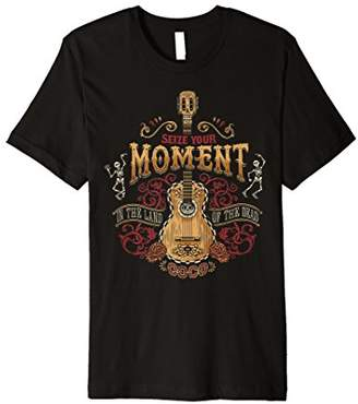 Disney Pixar Coco Seize Your Moment Guitar Premium T-Shirt