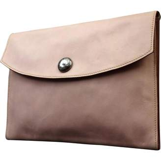 Hermes Rio leather clutch bag