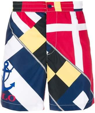Polo Ralph Lauren sailing print swimming shorts