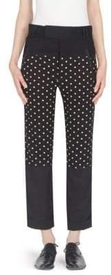 Jersey Polka Dot Trousers
