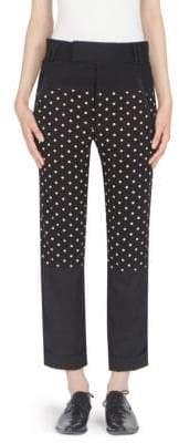 Haider Ackermann Jersey Polka Dot Trousers