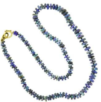 Irene Neuwirth Dark Opal Beaded Necklace - 17 Inch