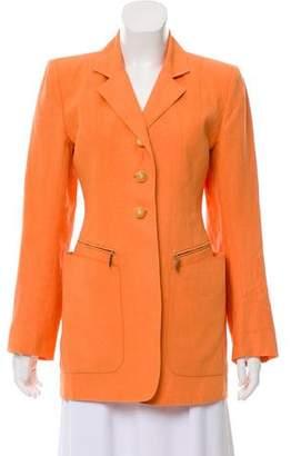 Hermès Structured Linen Blazer