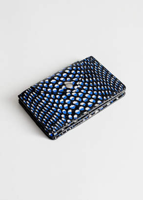 And other stories Leather Card Holder