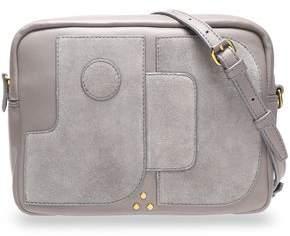 Jerome Dreyfuss Leather And Suede Shoulder Bag