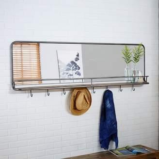 west elm Entryway Mirror + Hooks - Large