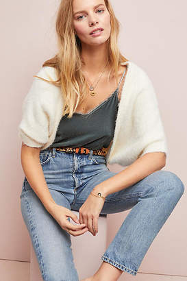 Anthropologie Cozy Cropped Shrug