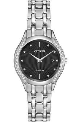 Citizen Ladies Silhouette Diamond Eco-Drive Watch GA1060-57E