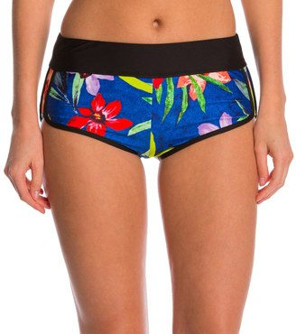 Next Tropical Fusion Go Girl Banded Swim Short 8145352 $64 thestylecure.com