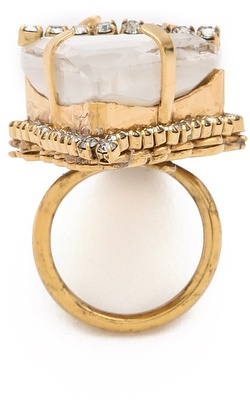 Erickson Beamon Whiter Shade of Pale Ring