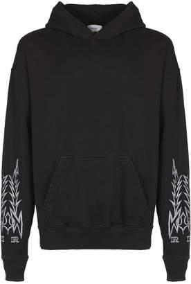 Rhude Tribal Print Sleeved Hoodie