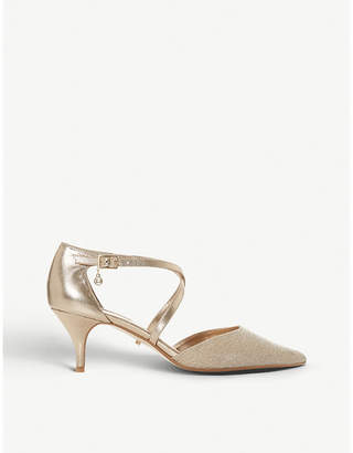 08c50681bde3 Dune Courtnee leather kitten heel courts