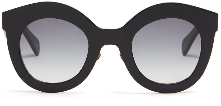KALEOS Shawer cat-eye sunglasses