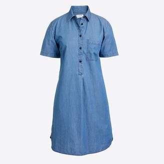 J.Crew Factory Chambray shirtdress